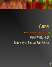 EPI Lesson 16 Cancer revised Fall 2010.ppt