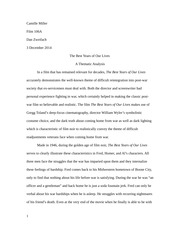 Film Review Paper