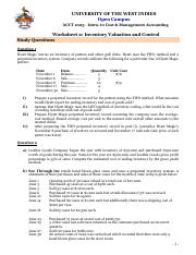 ACCT1003_Worksheet #2_Inventory Valuation  Control-5