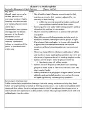 Chapter 2-2 Cornell Notes