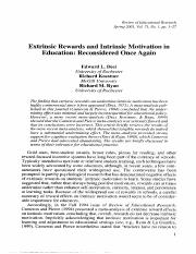 2001_DeciKoestnerRyan Extrinsic rewards and intrinsic motivation in education.pdf