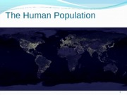Demography_Human_Populations