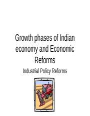 Growth AND iNDUSTRIAL POLICY REFORMS1.ppt
