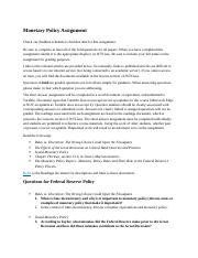 Monetary Policy Assignment FA19 (2).docx
