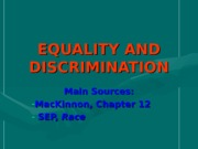EQUALITY+AND+DISCRIMINATION