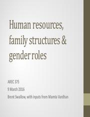 AREC 375 March 9 lecture -- Gender and agriculture copy