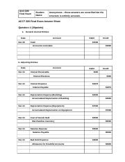 ACCT 220 Final Exam Answer Sheet - Unverified.docx