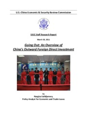 Going Out An Overview of Chinas Outward Foreign Direct Investment