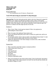 UC Davis - ANT 148A - Midterm Study Guide