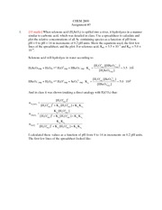 2014 Assignment 3 (with solutions)