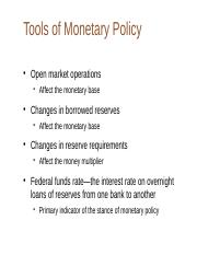 ECON3410 - W6 Policy Tools.ppt