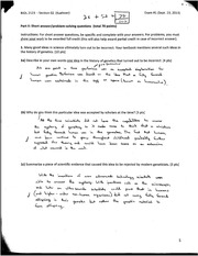 Biology Genetics Exam 1 Packet page 3