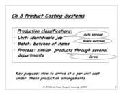 Ch 3 ADM2341A Job and Process Costing