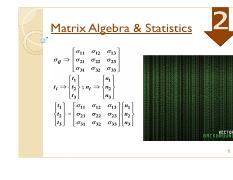SCE 4104 Matrix Algebra  statistics Topic 2.pdf