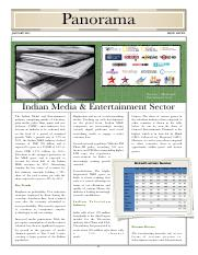 Panorama - Media and Entertainment - 2012