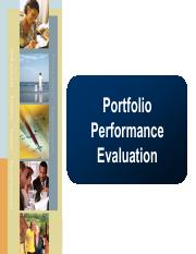 lect 8 Portfolio Performance