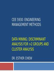 CEE 5930 -- Data Mining Part 2 - Fall 2017.pptx