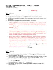 EEL4512_Exam 3_Solution Fall2014