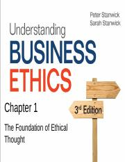 Chapter 01 - Foundation of Ethical Thought.pptx
