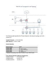 TSM 353 Lab Configuration and Topology (2).docx