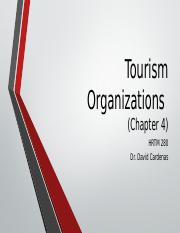 4. Tourism Organizations (Chapter 4).pptx