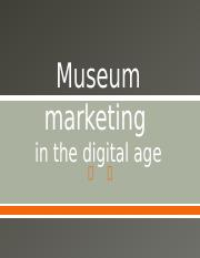 Museum marketing.pptx