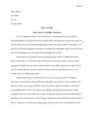 PS test 2 essay