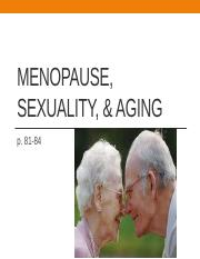 Menopause, Sexuality, & aging.SV.pptx