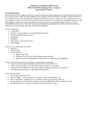 HDFS 220 ANTH 210 Exam 4 Key Terms