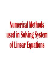 Lecture 3 Solving Systems of Linear Equations (Numerical).pdf