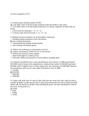 In Class Assignment Chapter 24_answer key