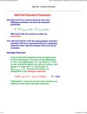 Topic_6M - Standard Potentials