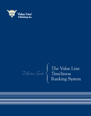 FIN425 - Value Line - Timeliness Ranking Sys