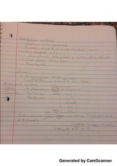 Synthesis Notes