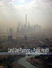 Land Use Planning for Public Health.pptx