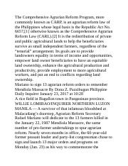 The Comprehensive Agrarian Reform Program.docx