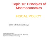 fiscal policy notes