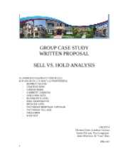 PPD 437 - Group Case Study (Written Proposal)