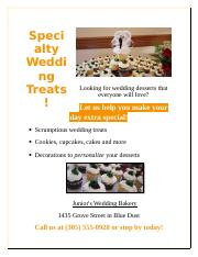 Lab 1-2 Wedding Bakery Flyer ( Anna Sanders) 2.docx