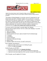 monopoly rules and instructions