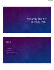 01 Atoms, isotopes, Table Lecture