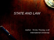 State and Law