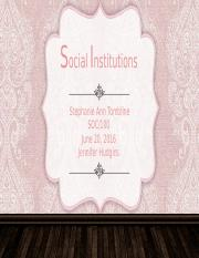 (Films on Demand) Sociology Collection - Social Institutions