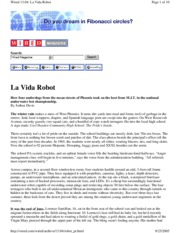 Wired - La Vida Robot