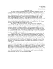 Econ 102 essay 4 The Other Crisis