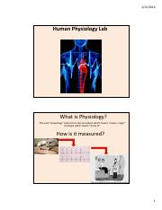 FOR STUDENT UPLOAD - Lab G-2 Human Physiology TA presentation - updated 2-12-16.pdf