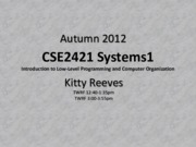2012 Autumn Midterm Slides