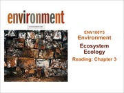 Lect 12-13 Oct 7 - 9 Ecosystems & Cycles posting
