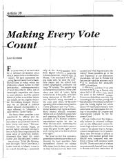 Guinier, Making Every Vote Count.pdf