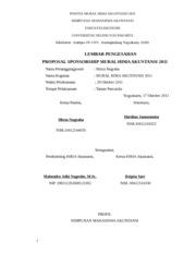 Proposal Biosfair 2015 A Latar Belakang Seorang Manusia Diciptakan